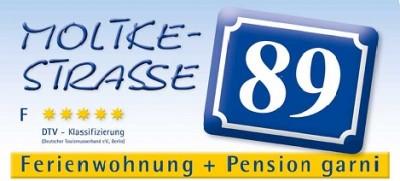 Moltkestraße 89 Ferienwohnung und Pension garni F *****